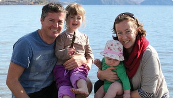 Jessie Snowdon and Family