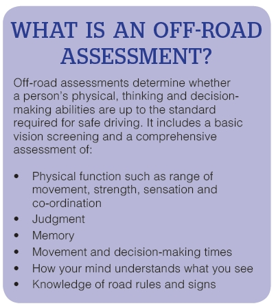 What is an Off-Road Assessment