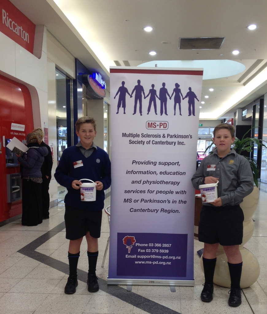 5a - Carnation Day Report - CBHS in Riccarton Mall